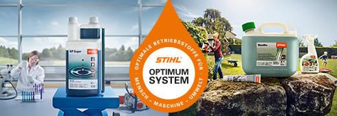 Эксплуатационные жидкости STIHL