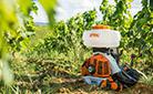 Опрыскиватели STIHL – идеальное оборудование для обработки виноградной лозы