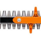 Режущий нож с двусторонней заточкой